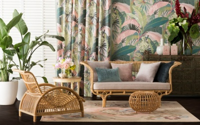 STUNNING NEW RELEASE OF TROPICAL FLORA WALLPAPERS