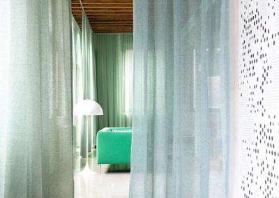 Sheer Curtain Pure Linen