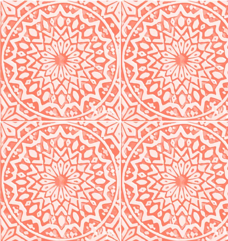 Bahia Wallpaper Pink